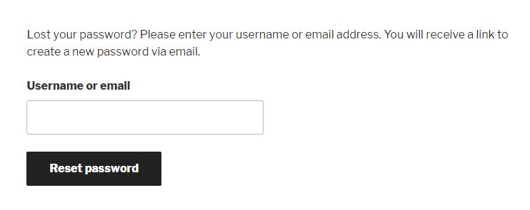 How to Change Your WordPress Admin Password Step 2