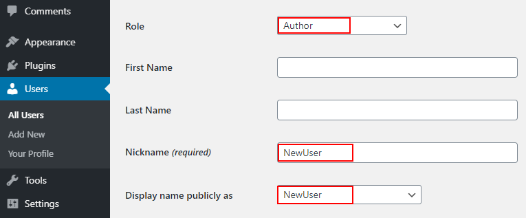 How to Remove the Author Name in WordPress Posts Generic Name Step 3